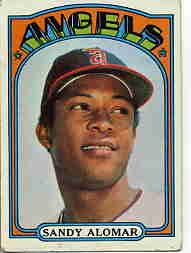1972 Topps Baseball Cards      253     Sandy Alomar